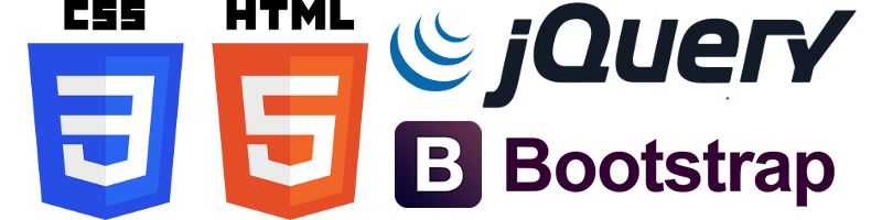 HTML5, CSS3, jQuery, Bootstrap